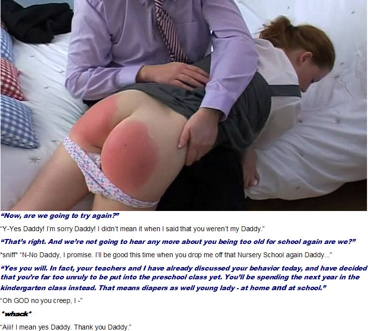 daddy exam spank enema