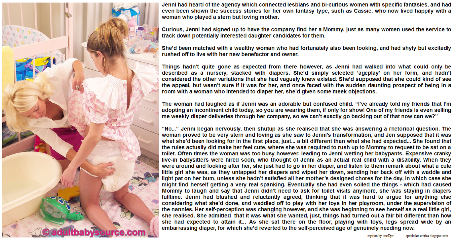 Abdl domination stories