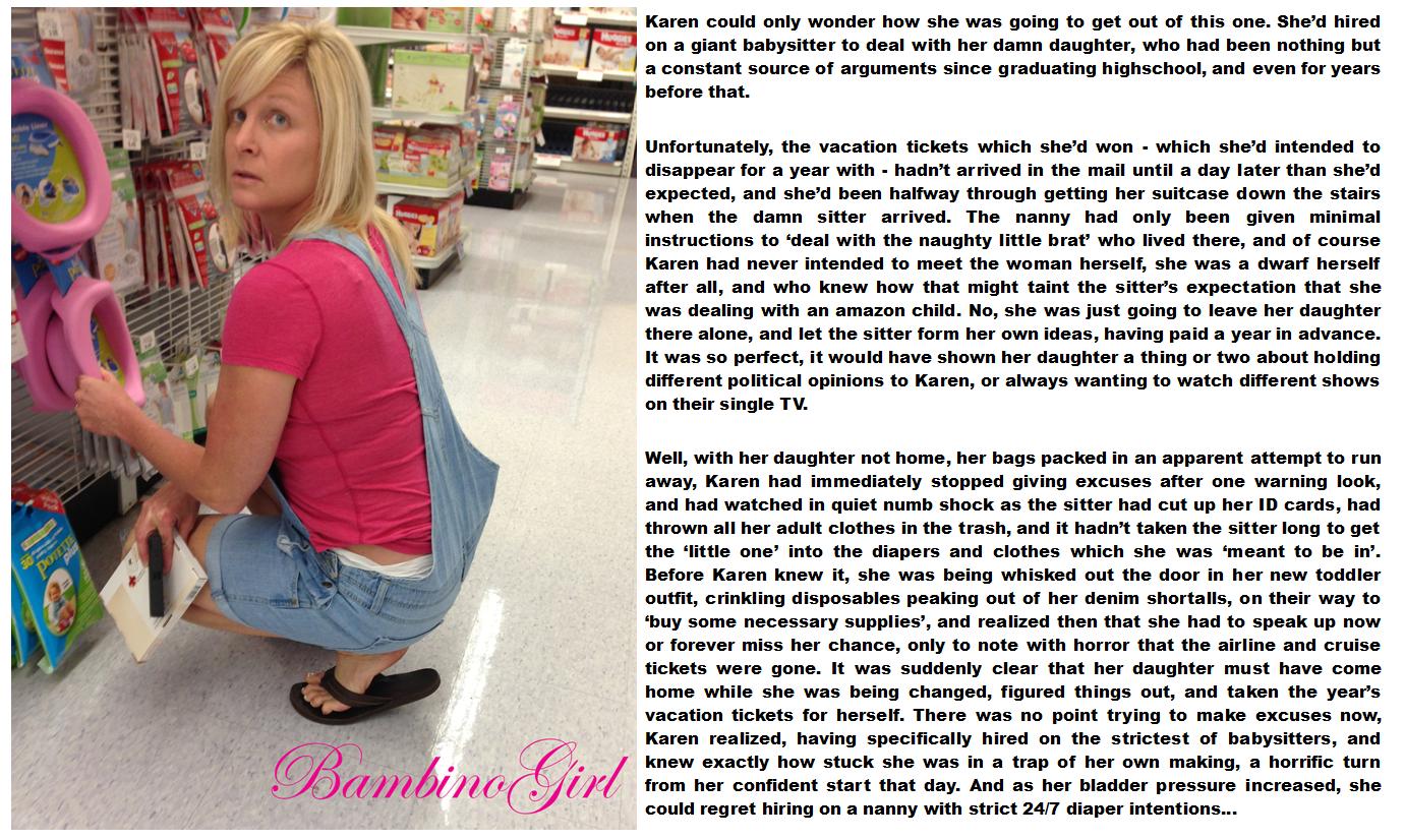 Ramirez abdl messy girls humiliation blondes fickluder